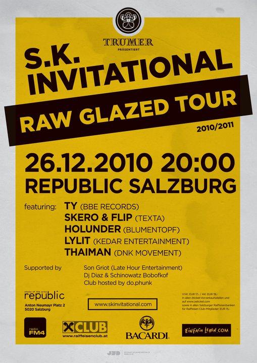 Raw Glazed Tour